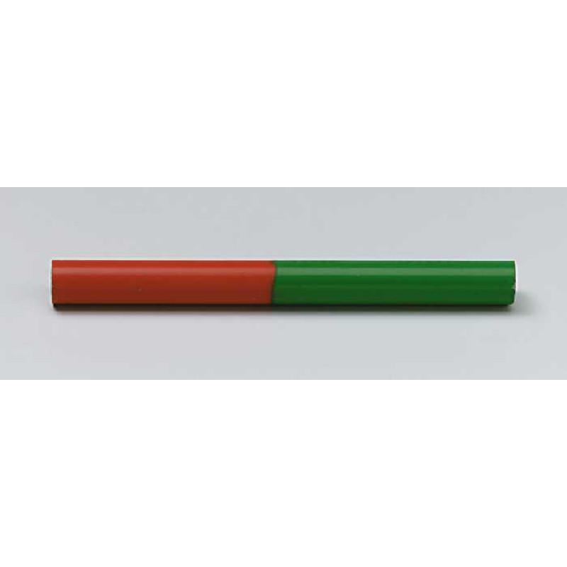 Rundstabmagnete, AlNiCo, rot/grün