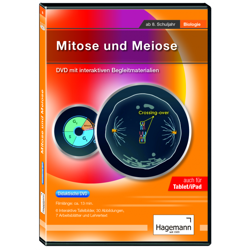 """DVD """"Mitose und Meiose"""" didaktisch"""