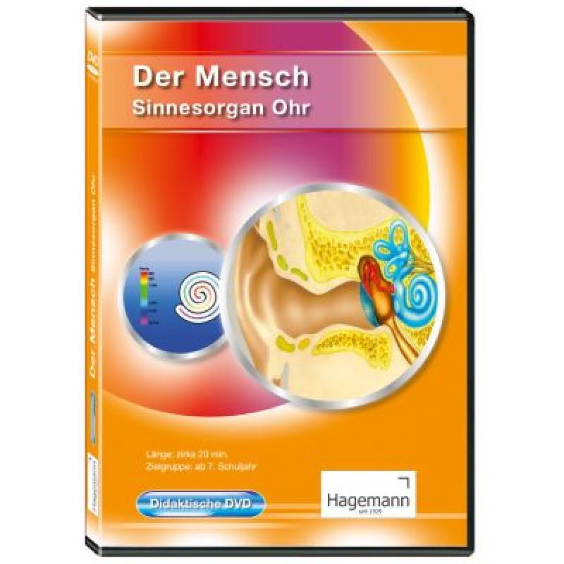 """DVD """"Der Mensch: Sinnesorgan Ohr"""" - didaktisch"""
